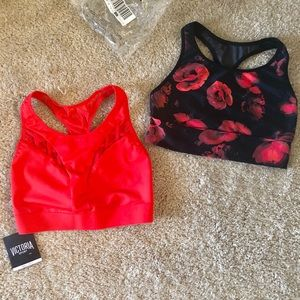 Two NWT XS Sports Bras from Victoria's Secret